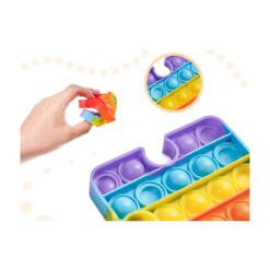 Zásuvka priebežná s vypínačom NVKF3/WH trojitá