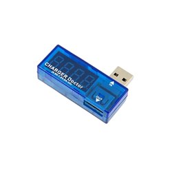 Voltmeter a ampermeter na USB TESTER AK306B