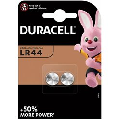 Batéria DURACELL LR44 (A76, 357, AG13) 2PACK