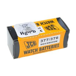 Batéria JCB 377 (SR626SW, LR66, AG4)