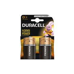 Batéria Duracell LR20 BASIC alkalická 2blister