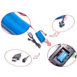 Batéria ENELOOP RC03 750mAh 8blister TONES EARTH