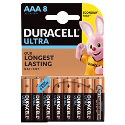 Batéria Duracell LR03 ULTRA alkalická 8blister